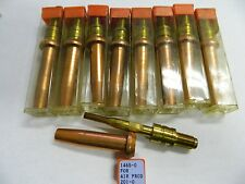 Oxygen/Acetylene Torch Tips 1465-0 for 201-0 1 Lot of 9 Unbranded/Generic Tips
