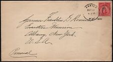 PHILIPPINES #242 ON COVER ADDRESSED TO GOV. ROOSEVELT FROM FDR COLLECTION BR8456