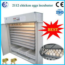 automatic egg incubator chicken/goose/duck incubator 2112 pcs SEA CUSTOM PICKING