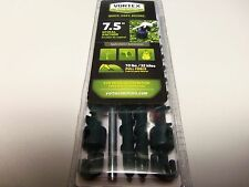 "Vortex Plastic 7 1/2"" Spiral Anchor Green 4 Pack Tents Trees Lawn art Inflatable"