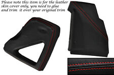 RED Stitch dashboard side trim copre gli accoppiamenti Land Rover Defender 90 110 83-06