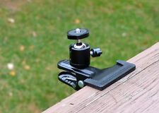 Clamp Mount for Tree Stand Trail Hunting Digital Camera Videocam Spotting Scope