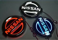LED 5d Logo Light Badge Neon Emblem Nissan Tiida X-Trail Geniss Livina Almera