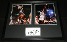 Shaquille O'Neal Signed Framed 16x20 Photo Set Miami Heat LSU