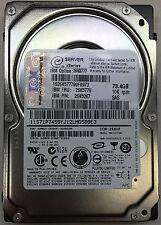 """IBM 73.4GB 10K RPM SAS 2.5"""" HARD DRIVE 26K5779 26K5267 26K5777"""