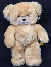 """24K Polar Puff Special Effects Brad Bear 17"""" Plush Tan Teddy 4682 Vintage 1985"""