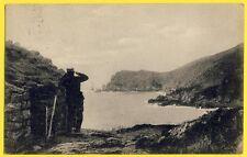 cpa JOBOURG (Manche) Le NEZ au Bec des Anes ABRI des DOUANIERS The Coast Guards