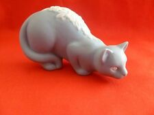 FRANKLIN MINT~1980's 3rd Series Curio Cabinet Cat Figurine # Pariah Style