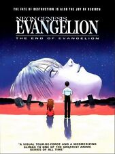 Evangelion Anime Fabric Art Cloth Poster 17inch x 13inch Decor 17
