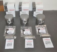 WISECO FORGED PISTONS 3 876ML07200 72.MM 2MM OVERBORE LEFT RIGHT SUZUKI GT750