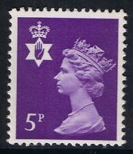 GB QEII Northern Ireland SG NI18 5p Reddish Violet 2B. Regional Machin 10% OFF 5