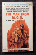 1968 THE MAN FROM M.O.D. by Will B Day 1st Flagship Paperback VG