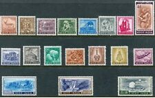 INDIA - 1965-75 4TH DEFINITIVE SERIES AGRICULTURE, PLANNING ETC 18V, MNH