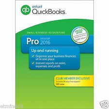 QuickBooks Pro 2016 Small Business Accounting Software with 90 Days Support