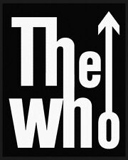 THE WHO - Patch Aufnäher logo 10x8cm