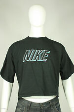 Vintage Nike 80's t-shirt XL cut off gray tag made in USA black cotton