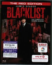 THE BLACKLIST: The Complete Second Season / THE RED EDITION [5 x Blu-ray, 2015]