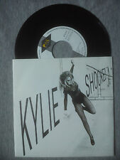 KYLIE MINOGUE  - ''SHOCKED (DNA MIX)''- SPANISH ONLY PROMO 7'' VINYL SINGLE.