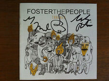 Foster the People  signed cd Torches autographed signed by band members RARE
