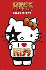 Hello Kitty : I Love Kiss - Maxi Poster 61cm x 91.5cm (new & sealed)