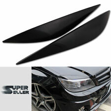 MERCEDES BENZ W204 C CLASS 4D 08-11 EYEBROWS EYELIDS HEADHIGHT COVER C300 C250