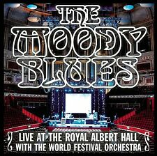 MOODY BLUES : LIVE AT THE ROYAL ALBERT HALL WITH WORLD FESTIVAL (CD) sealed