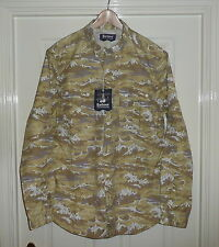 """BNWT BARBOUR X WHITE MOUNTAINEERING STONE """"WAVE"""" SHIRT , MENS XL , RRP is £189"""