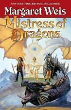Mistress of Dragons, Literature & Fiction, Epic, °, 8, , Margaret Weis, Very Goo