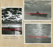 DVD WW2 PHOTO ALBUM HMS ILLUSTRIOUS FLEET AIR ARM PLANES BOMBING SABANG SUMATRA