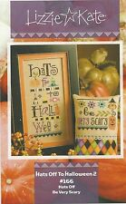 Lizzie Kate Hats Off to Halloween 2 Cross Stitch Charts + Buttons