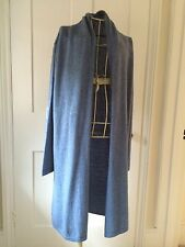 LUELLA DESIGNER CASHMERE long cardigan - ONE SIZE - NEW WITH TAGS - RRP £75+