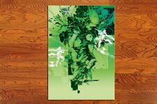 """MGS003h  Game poster METAL GEAR SOLID 3 SNAKE EATER Poster (20"""" * 28"""")-003h"""