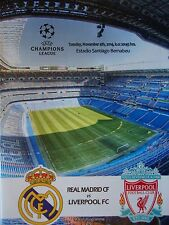 Programm UEFA CL 2014/15 Real Madrid - Liverpool FC