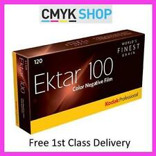KODAK EKTAR 100 120 COLOUR NEG FILM (10 PACK) **FREE UK 1ST P&P**