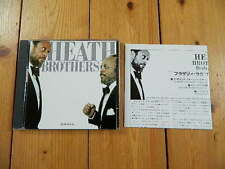 The Heath Brothers Brotherly love /Jimmy Heath Akira Tana Percy Heath  JAPAN CD
