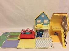 Peppa Pig Deluxe Playhouse Set con muebles y coche combinado P&P