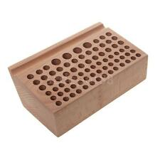 New Leather Craft Wooden Stand Holder Holding Organiser Leather Punch Tool
