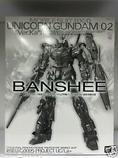 Premium Bandai MG 1/100 RX-0 Unicorn Gundam 02 Version Ka Banshee Final Battle