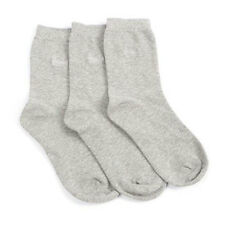 Pringle Femme TIFFANY Chaussette riche Coton 3 Pack Gris Taille 4-8