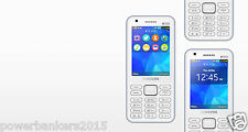 Samsung Metro XL Mobile B355E Dual Sim - White 3.1MP Front & 2MP Rear Camera