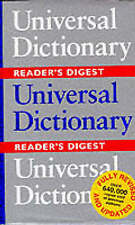 Universal Dictionary, Reader's Digest Hardback Book The Cheap Fast Free Post