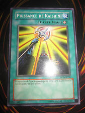 YU-GI-OH! MDM-F118 PUISSANCE DE KAISHIN NEUVE FRANCAIS MINT POWER OF FRENCH