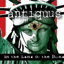 Antiquus-in the Land of the Blind (NEW * can epic power metal * PRIVATI * I. Maiden)