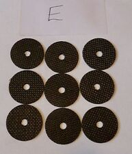 9 x Roys carbontex drag washers suitable FOR shimano ultegra ci4 5500xsa/XTA