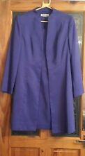 JACQUES VERT . Ladies stunning purple dress suit  Size 10 . Wedding , ocassion .