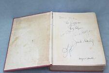 WIZARD OF OZ Cast Signed Book AUTHENTICATED~7 Autographs~Land of OZ L.Frank Baum