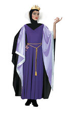 Ladies Snow White Evil Queen Costume Wicked Queen Fancy Dress Costume