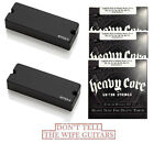 EMG 81-8X + 808X BLACK 8 STRING ACTIVE SOAPBAR PICKUP SET ( 3 SETS OF STRINGS )