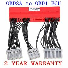 OBD2A to OBD1 Conversion ECU Jumper Harness For Honda Civic Accord Acura New