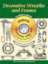 Decorative Wreaths and Frames by Dover Publications Inc, Clip Art (CD-ROM, 2000)